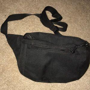 Handbags - All black fanny pack